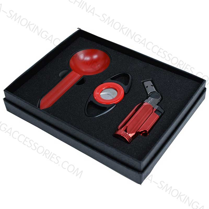 Custom Cigar accessories Gift set Z609
