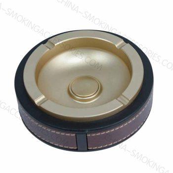 Cigarette ashtrays for tobacco