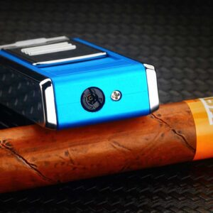 Triple Flame Butane cigar Lighter