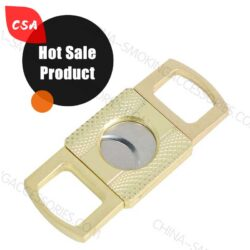 Portable Guillotine Cigar Cutter Scissors Stainless Steel C002