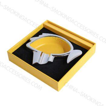 Metal Cigar Ashtray Metal Custom printing LOGO and colors options
