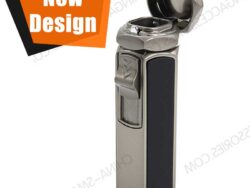 Custom Engraved Cigar Lighters Flame Butane Cigar Lighter Custom Colors Factory Direct LCT362