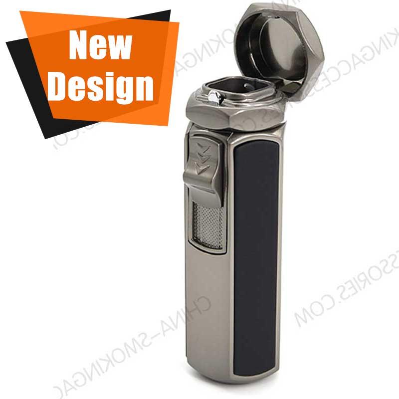Custom Engraved Cigar Lighters Flame Butane Cigar Lighter Custom Colors Factory Direct LCT362