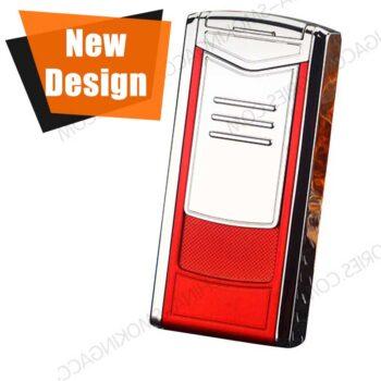 Custom engraved Cigar Lighter Triple Flame Butane Cigar Lighter LCT350
