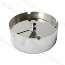 Windproof Ashtray with lid Stainless Steel A505