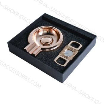 Cigar Ashtray Set with Cigar Cutter Gift Set Cigar Accessories