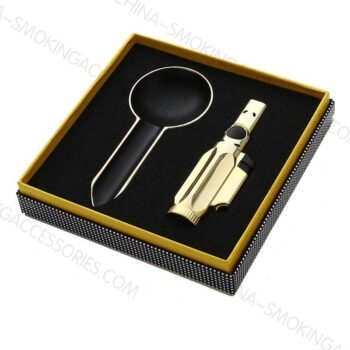 Cigar Accessory Gifts Sets Custom a Ashtray and Lighter Giftset Z202