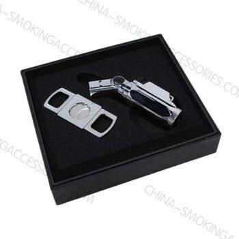 Cigar gift set cigar ashtray and lighter