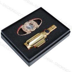 Cigar Accessories Gifts Custom Cigar Cutter Lighter Set