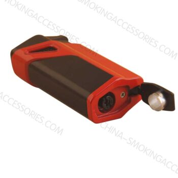 Custom Cigar Lighter Punch Triple Jet Flame Cigar Lighter with a Punch LCBP3083