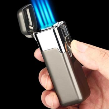 cigar lighters accessories factory quad flame
