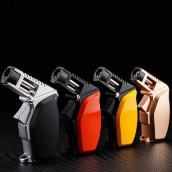 Butane Refill Torch Lighters Custom Torch Cigar Lighters LCB328