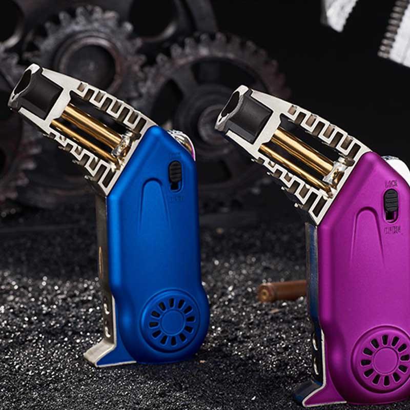 Butane Cigar Lighter Refill Lighter with Safety Lock Lighter Customized Designs LCB115