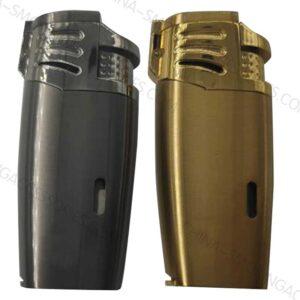 Custom Cigar Lighter Multi Tool Triple Jet Flame with Built in Punch LCBP3096