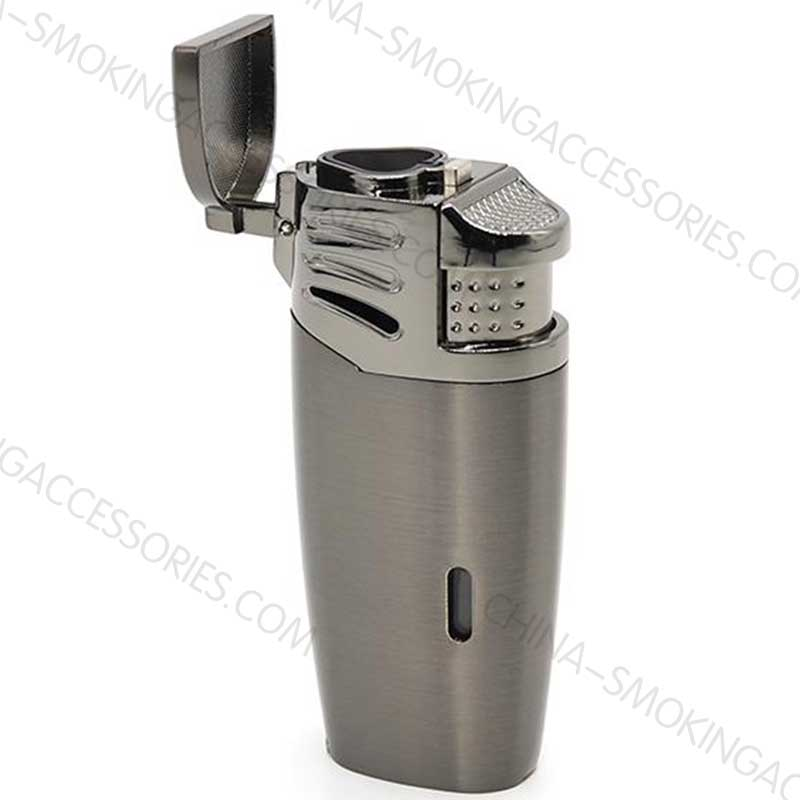 Cigar Lighter with hole punch Multi Tool Triple Jet Flame with Built in Punch LCBP3096