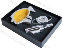 Custom Cigar Gift Set Metal z607