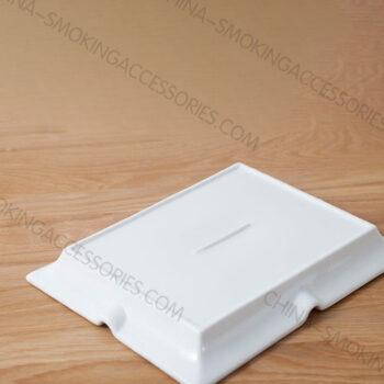 Ceramic Ashtray with white Matt or glossy color AC0754