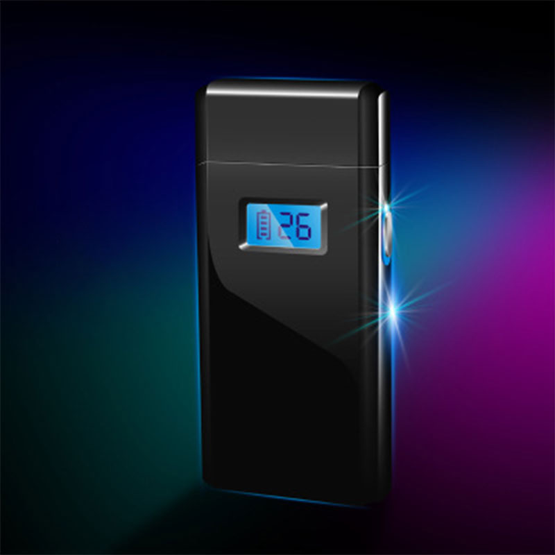 LED USB Double ARC Electric Lighter Eco-Friendly Flameless Factory Direct LCL318