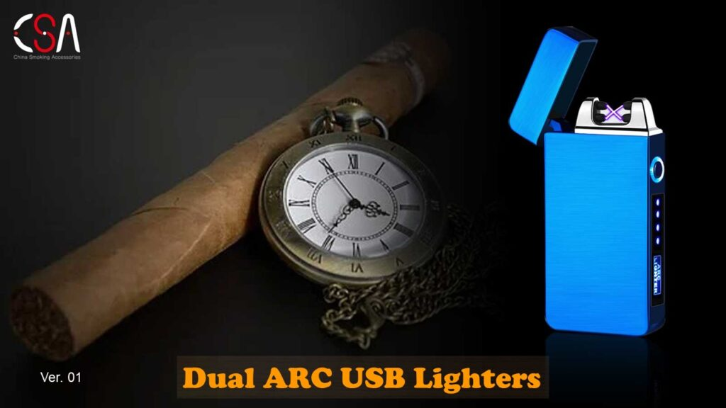 China-Supplier-Double-ARC-Battery-USB-Lighters-Catalog-2020