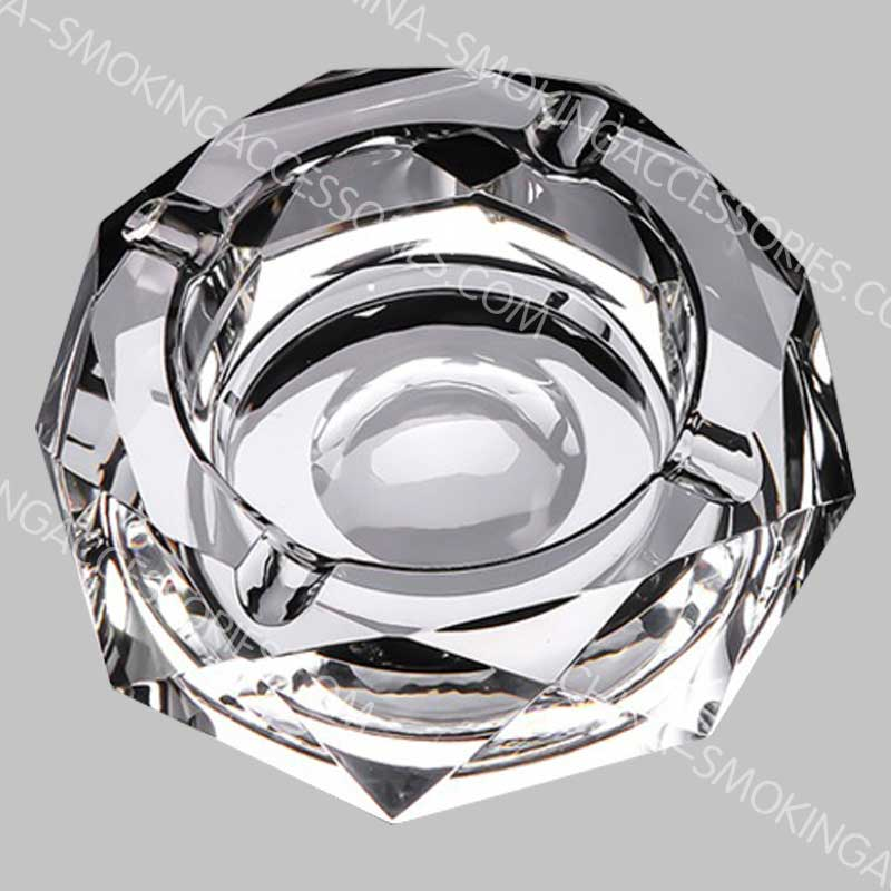 Custom Crystal Ashtray Cigar Smoking Ashtray luxury collection AS540-02