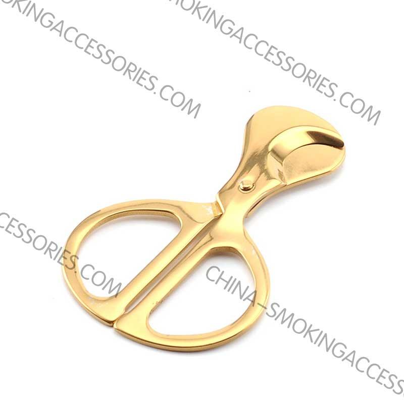 Cigar Scissors double blade Cutter custom engraved LOGO