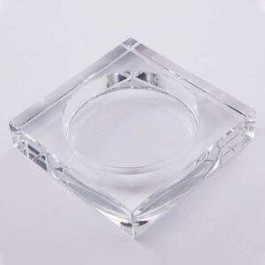 Glass Crystal Ashtray in Bulk Wholesale Custom Logo factory Direct AS534-01