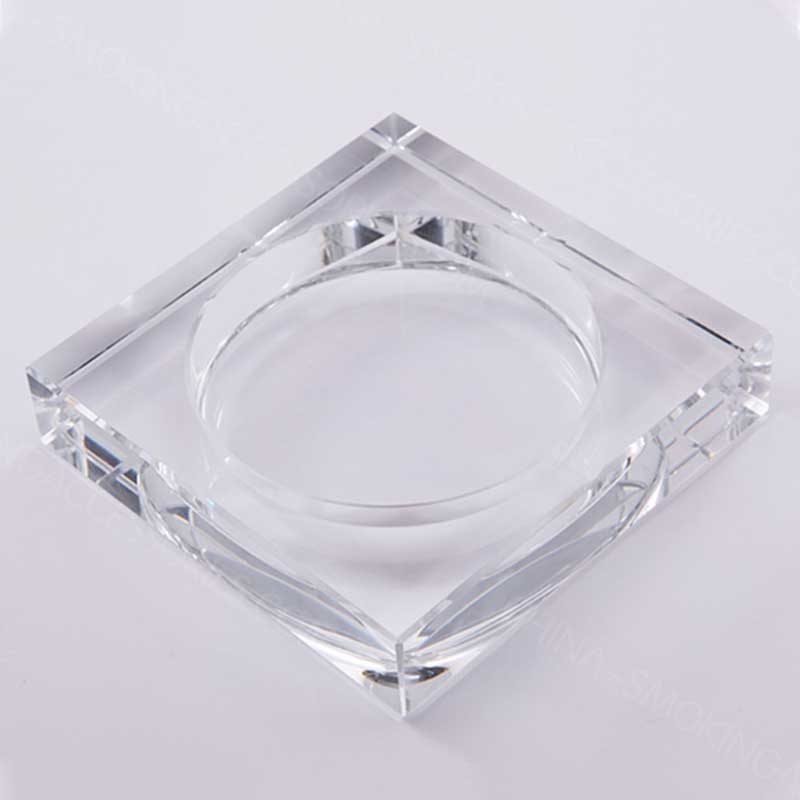 Square Crystal Ashtray smoking accessories AS534