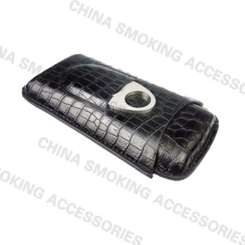 Leather Cigar Carrying Case Kit