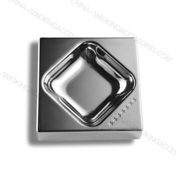 Metal Ashtrays Creative Cigarette Ashtray Cigar LOGO Engraved A1008