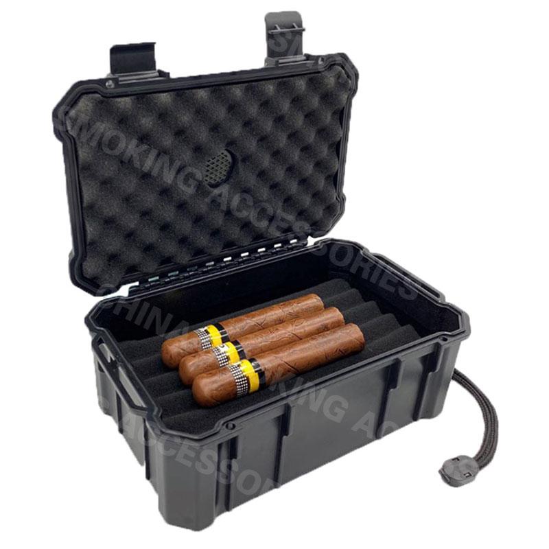 Plastic Cigar Pouch Humidor Bag KV5004