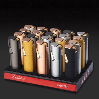 display for cigar jet lighter