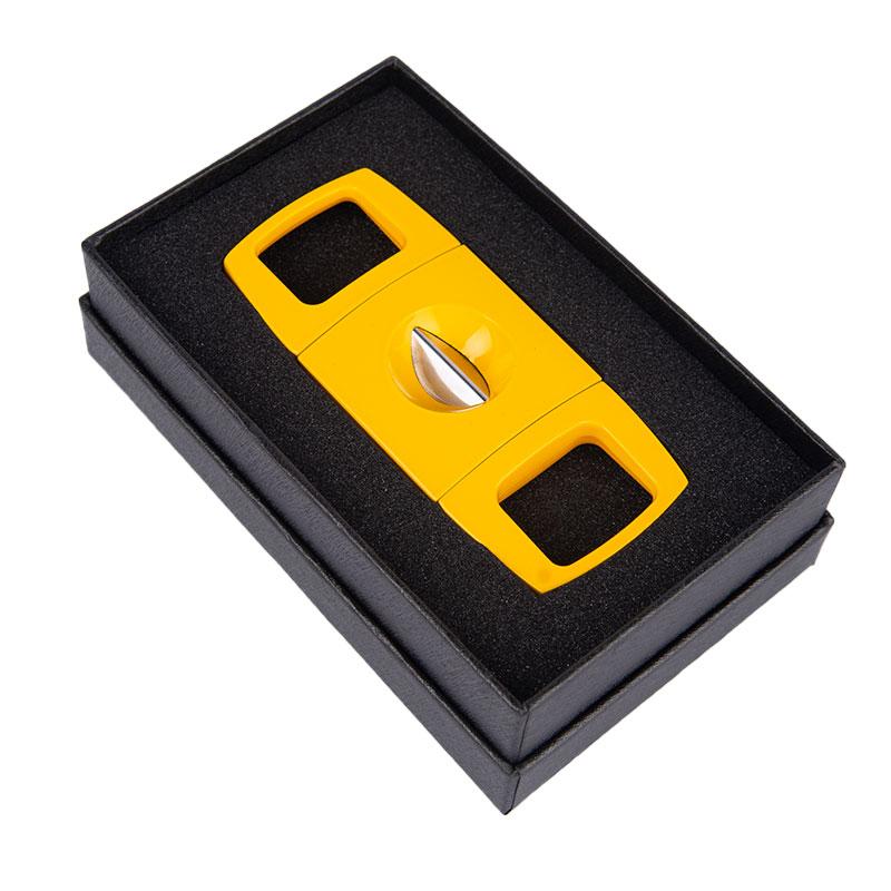 New V shape Cigar Cutter with Giftbox Smooth V Blade Cut C005