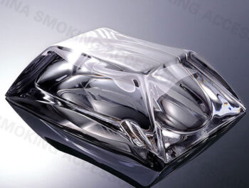 Cleary Glass Cigar Ashtray Transparent AS520
