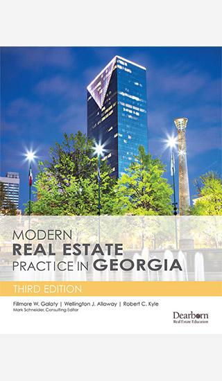 modern real estate practice in Georgia book cover