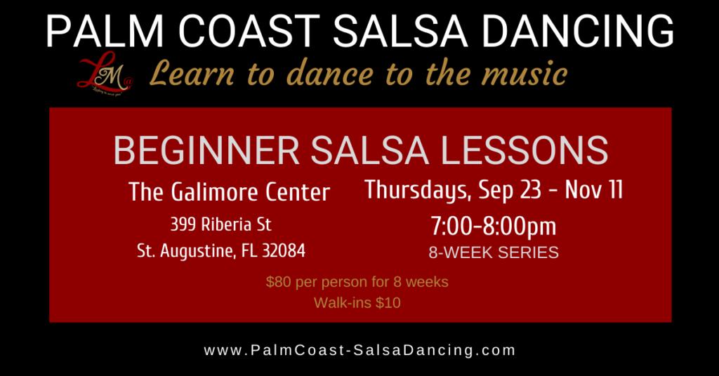 Beginner Salsa Lessons - 8-week series - Sep 23, 2021