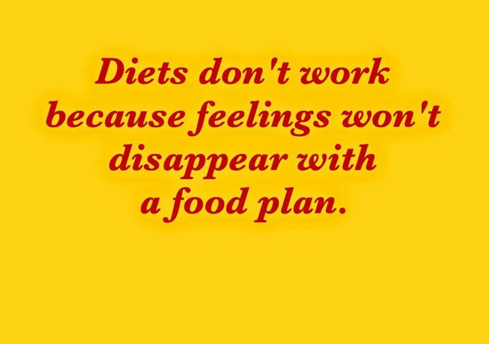 Plain Ordinary Diets Don't Work !