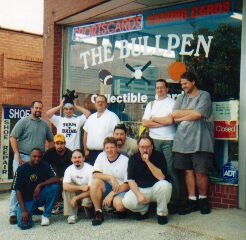 Here are just some of Steve's loyal patrons.