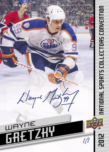 Gretzky National Autograph
