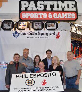 Upper-Deck-Featured-Retailer-Pastime-Sports-Games-British-Columbia-Phil-Esposito-Event