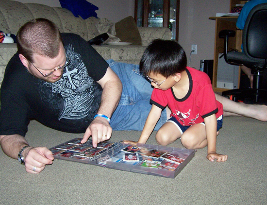 Upper-Deck-Trading-Cards-Father-of-the-Year-Collect-with-Kids-Tim-Danielson-2