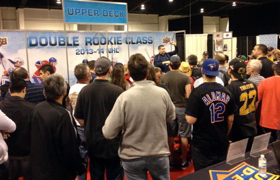 2013-NHL-Fall-Expo-Upper-Deck-FREE-Raffle-Booth-Double-Rookie-Class-NHL