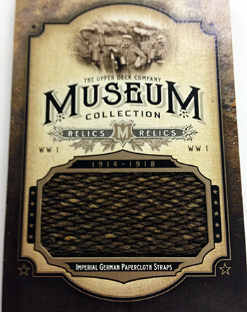 2014-Goodwin-Champions-Museum-Collection-World-War-I-German-Papercloth-Straps