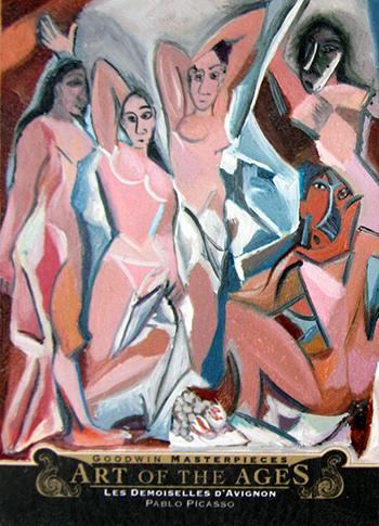 2014-Goodwin-Champions-Upper-Deck-Art-of-the-Ages-Picasso-Les-Demoiselles-Davignon