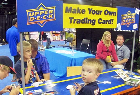 2014-National-Sports-Collectors-Convention-Kids-Zone-Child-Focused-Marketing-Draw-Your-Own-Card