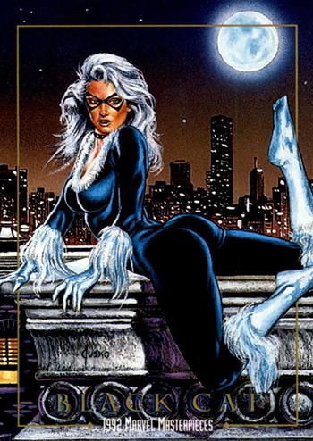 Joe-Jusko-Marvel-Masterpiece-Artist-Spotlight-1992-Set-Black-Cat