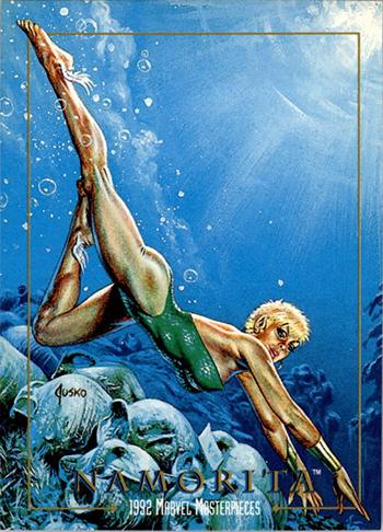 Joe-Jusko-Marvel-Masterpiece-Artist-Spotlight-1992-Set-Namorita