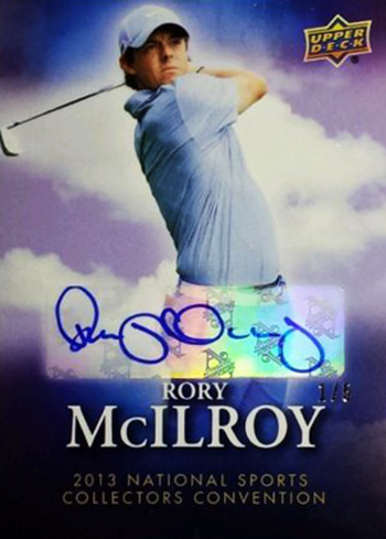 Rory-McIlroy-Golf-Collectibles-Card-Rookie-Best-2013-National-Convention-Autograph-XRC