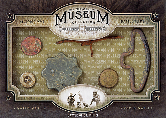2014-Upper-Deck-Goodwin-Champions-Museum-Collection-World-War-I-WWI-Artifacts-Battle-of-St-Mihiel
