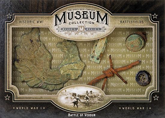 2014-Upper-Deck-Goodwin-Champions-Museum-Collection-World-War-I-WWI-Artifacts-Battle-of-Verdun
