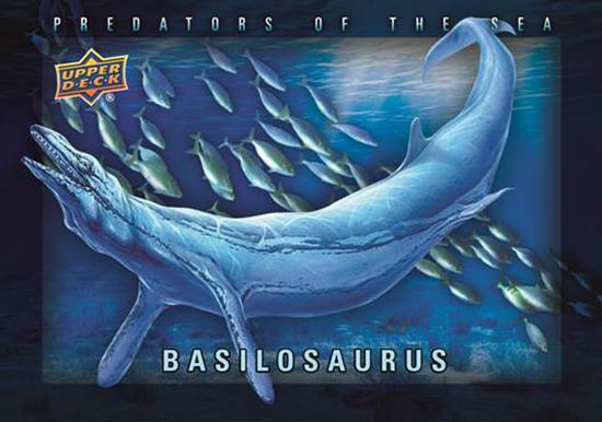 2015-Upper-Deck-Dinosaurs-Shadowbox-Predators-of-the-Sea-Basilosaurus